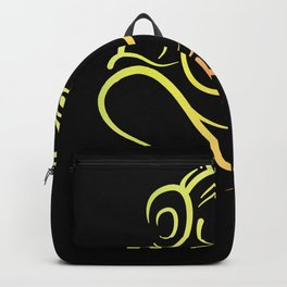 Ganesh Indian Elephant God Backpack