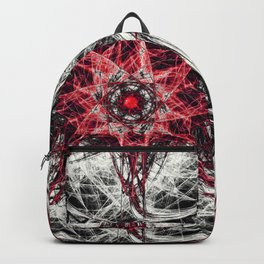 Dark Magic Fractal RED Backpack