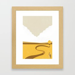 In the Prairie Framed Art Print