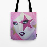 jem Tote Bags featuring Jem Star by Clare Chapman