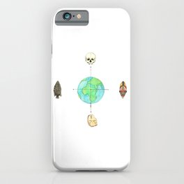 Anthropology: The Four Subdisciplines (Version 1.0) iPhone Case