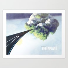 Green Plant - F-Zero GP Art Print