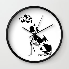 Hamlet the Great Dane Wall Clock