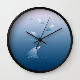 Let's go swimming Wall Clock