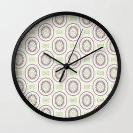 Grazioso Cameo Mint Wall Clock