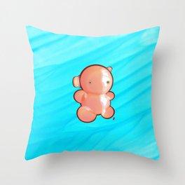 Horn-stone Throw Pillow