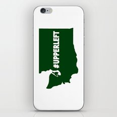 #Upperleft iPhone & iPod Skin