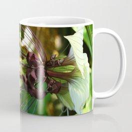 White Bat Flower Coffee Mug