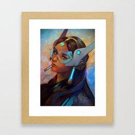 Symmetra - Halo Framed Art Print