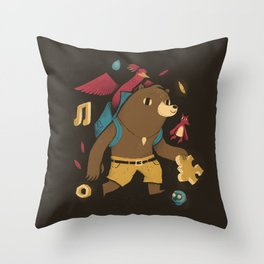 the collectors Throw Pillow