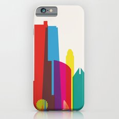 Shapes of Chicago. Accurate to scale iPhone 6s Slim Case