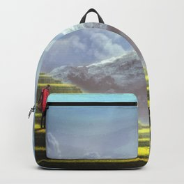 Fantasy Landscape Adventure Backpack