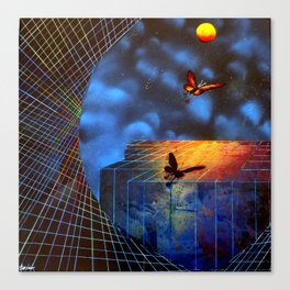 The Evolution of Dreams Canvas Print