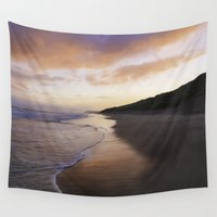 giants Wall Tapestries featuring An Autumn Morning by Peaky40