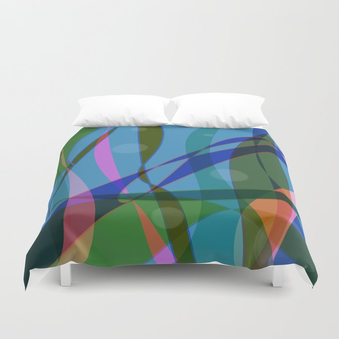 Abstract #355 Duvet Cover