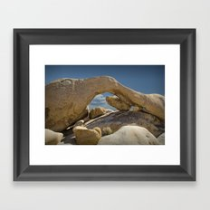 Rock Arch near Joshua Tree No 0294 Framed Art Print