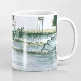 Vancouver Stanley Park Lighthouse Coffee Mug