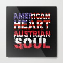 American Austria Metal Print