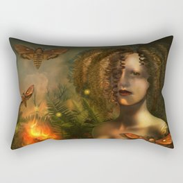 """Arcanum: The two paths"" Rectangular Pillow"