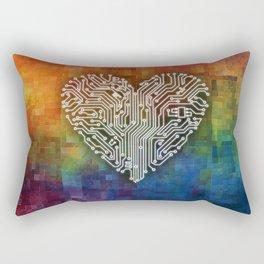 CIRCUIT LOVE Rectangular Pillow