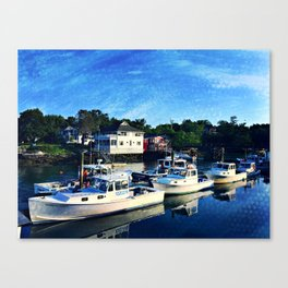 Lobster Boats  Canvas Print
