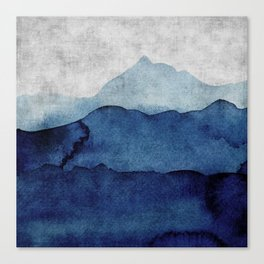 Water color landscape  Canvas Print