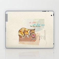 Illustration Friday- Dessert Laptop & iPad Skin