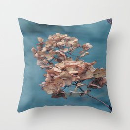 Dried Beauty Throw Pillow