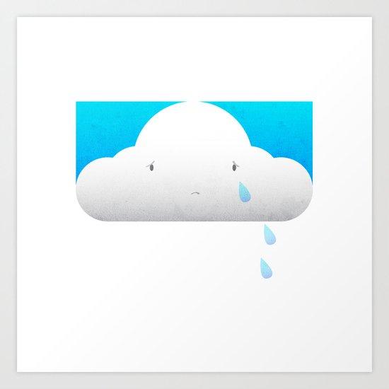 Why It rains. Art Print