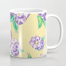 Pansy Pattern Coffee Mug