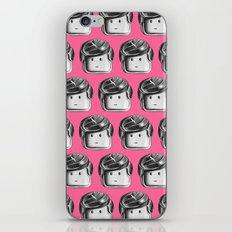 Minifigure Pattern - Pink iPhone & iPod Skin