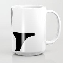 Typography, Ampersand, And Sign Coffee Mug