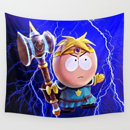 Thor Butters Wall Tapestry