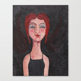 Red Headed Angel Canvas Print