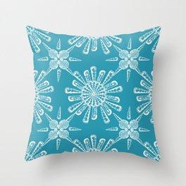 She Sells Sea Shells Print Throw Pillow