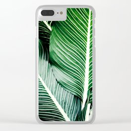 Palm-Tree Breeze Clear iPhone Case