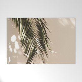 tropical palm leaves vi Welcome Mat