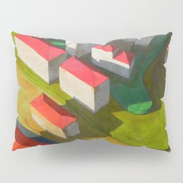 virtual model Pillow Sham