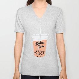 Boba Tea Drink Unisex V-Neck