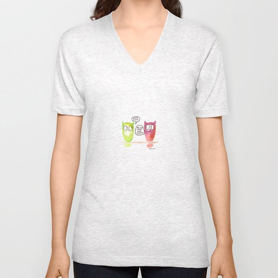 Woot Woot. Unisex V-Neck