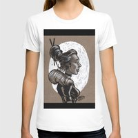 victorian T-shirts featuring Victorian Profile_2 by David Miley