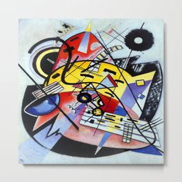 Wassily Kandinsky Composition 248 Metal Print