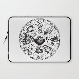 Wiccan Wheel Of The Year Laptop Sleeve