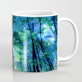 Forest of the Fairies Blue Night Coffee Mug
