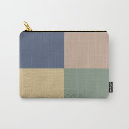Geometric Color Block VIII Carry-All Pouch