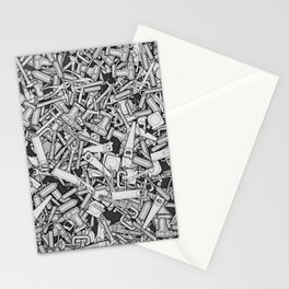 Toolbox DIY Tools Pattern Stationery Cards