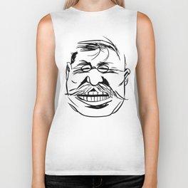 Face President Theodore Roosevelt Biker Tank