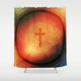 Thanks Be To God Shower Curtain