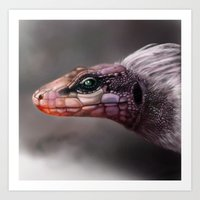 The Opsodon Creature Art Print