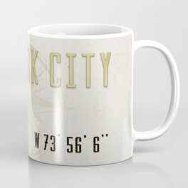 New York City Vintage Location Design Coffee Mug